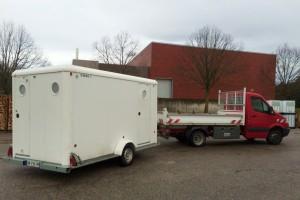 Atelier mobile pour maintenance de bâtiments