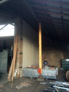 Travaux d'entretien de bâtiment industriel sur la commune de La Côte Saint André