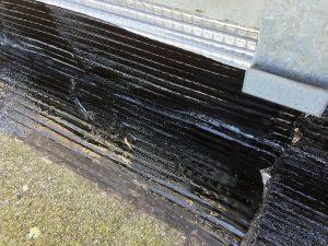 Réparation de fuite sur toiture terrasse